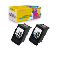 PG-240XL + CL-241XL (2PK) Compatible Ink Cartridge for Canon PIXMA MG3222 MG4120