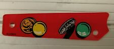 Bally Twilight Zone pinball machine plastic -05 by upper left flipper