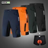 MTB Mountain Road Bike Shorts Men's Baggy Cycling Shorts Casual 1/2 Pants Summer
