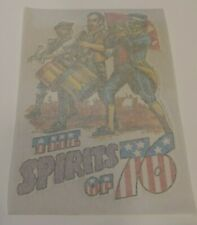 1975 Vintage Topps Far Out Iron On T-Shirt Transfers