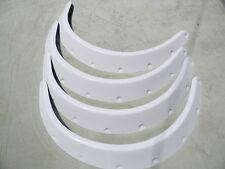WHITE FLARES fits JDM COROLLA AE86 FAIRLADY 240z 280zx S13 S14 S15 180sx IMPREZA