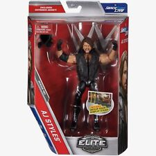 WWE AJ Styles Elite 51 Mattel Basique Figurine MOC NEW/SEALED