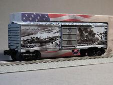 LIONEL 75th ANNIVERSARY PEARL HARBOR BOXCAR O GAUGE train military 6-83779 NEW