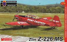 Kovozavody Prostejov 1/72 Zlin Z-226MS Trener # 7205