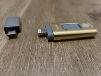 YSeaWolf Flash Drive for iPhone 256GB USB Flash Drive TypeC Flash Drive 3.0 7711