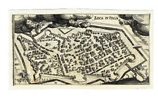 LUCCA - Tuscany - 1637 D. Meisner Topographical Plan - Toscana -  Italia
