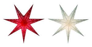 Star Christmas Window Advent Light Decoration Room Siluett Paper