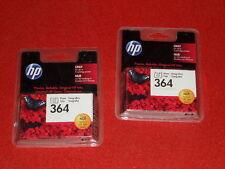 2x Original HP Tintenpatrone Doppelpack HP 364 Photo Foto mit Rechnung NEU