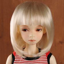 """Dollmore 1/3 BJD Dollfie SD wig (8-9)"""" Dan J Wig (Blond)"""