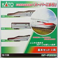 Kato 10-1136 Series E6 Akita Shinkansen Super Komachi 3 Cars (N scale)