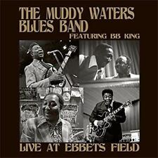 MUDDY WATERS BLUES BAND B.B. KING ‎– LIVE AT EBBETS FIELD 180G VINYL LP (NEW)