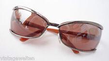 Eschenbach große gebogene Sonnenbrille extravagant Damen Highlight size L