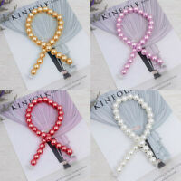 Curtain Tiebacks Magnetic Buckle Tie Backs Clips For Home Room Pearl Decorative