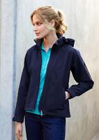 Biz Collection Ladies Summit Jacket Concealed Zippered Pocket Water Repellent