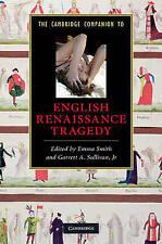 El compañero de Cambridge a Inglés Renacimiento tragedia (Cambridge compañeros a