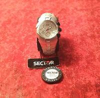 SECTOR 155 Watch Cronografo in alluminio, orologio uomo 42 mm NUOVO