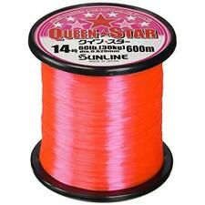 SUNLINE Nylon Line Queen Star 600m #18 Pink Fishing Line