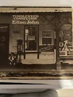 "ELTON JOHN TUMBLEWEED CONNECTION 1970 VTG VINYL RECORD ALBUM LP 12"" 73096 + BOOK"