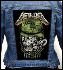 METALLICA - Seek And Destroy --- Giant Backpatch Back Patch