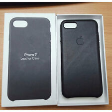 Official Genuine Apple iPhone 7 Leather Case Black MMY52ZM/A