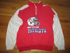 Vintage Hummer Sportswear NEW ENGLAND PATRIOTS 1/4 Zippered (XL) Jacket