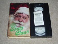 The Search for Santa Claus ~ VHS Movie ~ Christmas Holiday Video ~ Peter Ustinov