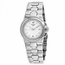 Tissot T-sport White Dial Diamond Markers Ladies Watch T0802101101600