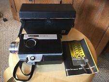 Vintage Kodak Instamatic M28 Movie Camera.  Manual & Case.  See photos.