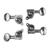 4 x Metal Ukulele String Tuning Peg 2 Right 2 Left Ukulele Tnners