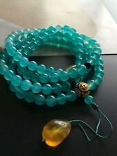 108 Beads Bracelet Aaaa 7.8mm Natural Mozambique Amazonite Stretch Round