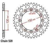 KR Kettenrad 51Z Teilung 520 HONDA XL 600 LM Paris Dakar 85-87 ... Rear sprocket