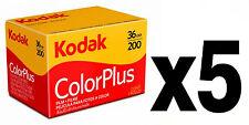 Pellicola 35mm Rullino Colore Kodak 200 135-36 5pz.