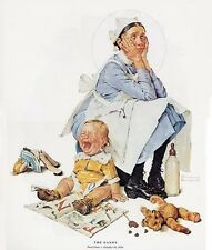 Norman Rockwell Nursemaid Print The Nanny