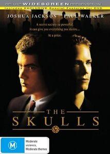 Skulls DVD - Paul Walker Movie Joshua Jackson - THRILLER