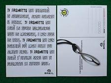6104 Advertising Pubblicita' Cartolina Card adesiva 15x10 cm - BREIL
