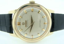 Rare VINTAGE OMEGA Seamaster 14K Gold 500 Automatic Watch