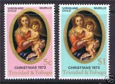 Trinidad & Tobago 1973 Christmas SG448/9 MNH