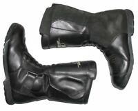 """"""" POLO ROAD """" Motorradstiefel / Biker- Stiefel / Boots in schwarz ca. Gr. 41,5"""