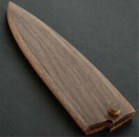 Japanese Chef Knife Sheath Wood Saya Shasimi Deba Knife Guard Case Bag190 220mm