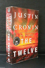 THE TWELVE Justin Cronin US SIGNED UNCORRECTED PROOF / ARC The Passage