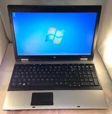 Hp Probook 6550b - Intel core i3 3gb ram 320gb hard drive - windows 10