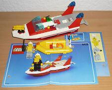 Lego City 6429 Feuerwehrlöschboot + Rettungsboot v. 1999 + OBA