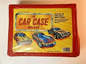 Matchbox Cars Vinyl Carry Case Model 20200 (M-20) Holds 48 Models