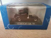 (Box K6) Herpa LKW H0 1:87 Scania Hauber Zugmaschine Collector's Club '99 OVP
