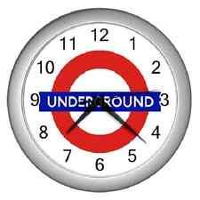 LONDON UNDERGROUND CLASSIC LOGO WALL CLOCK ******FANTASTIC ITEM*****