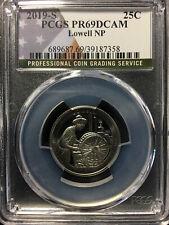 2019-S USA 'Lowell NP' 25 Cent Coin - PCGS PR-69 DCAM
