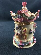 Dreamsicles Carousel Trinket Box