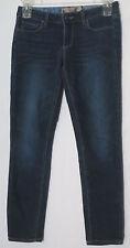 Paige Skyline Skinny Leg Low Rise Stretch Denim Jeans Womens Size 28