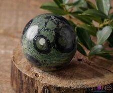 KAMBABA JASPER Crystal Sphere -Housewarming Gift, Crystal Ball, Home Decor E0618