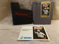 Nintendo Lee Trevino Fighting Golf 1989 (Nintendo Entertainment System)NES, Book